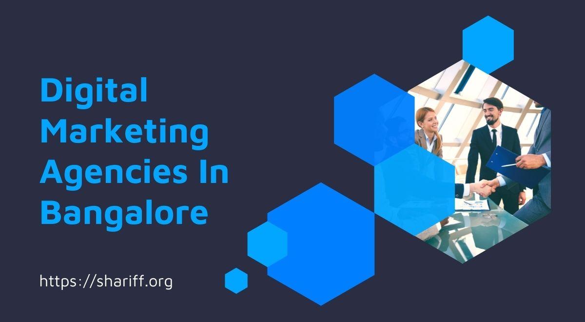 Digital Marketing Agencies In Bangalore