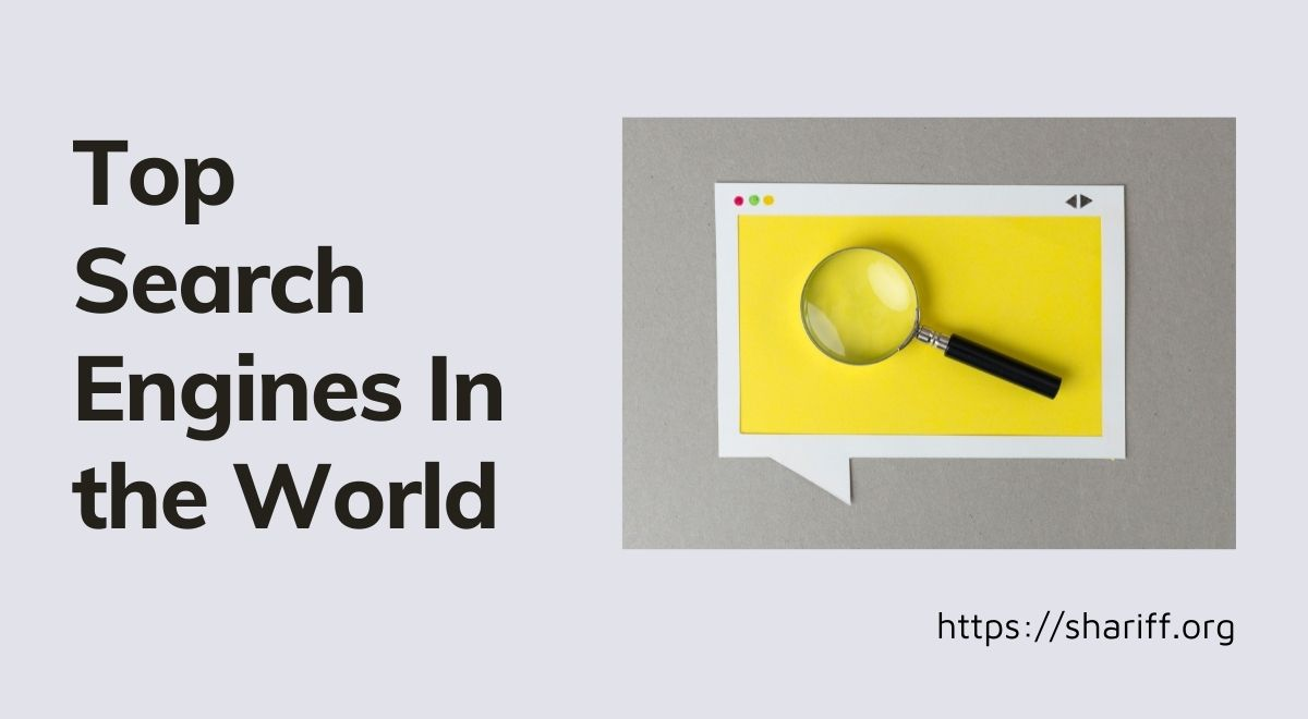 Top Search Engines In World